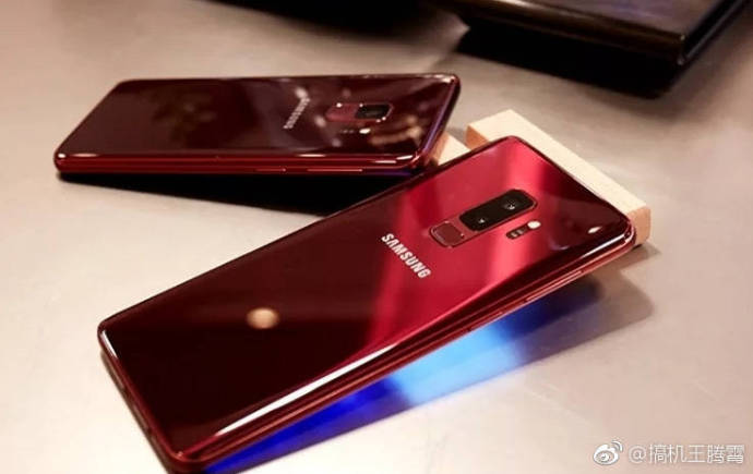Burgundy Red Galaxy S9 and Galaxy S9+ 7