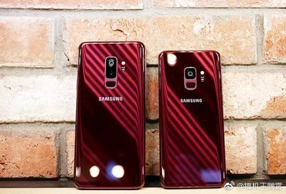Burgundy Red Galaxy S9 and Galaxy S9+5