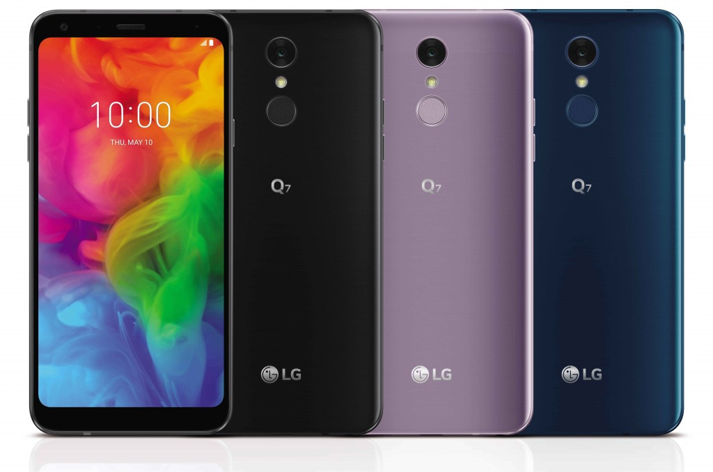 LG Q7, LG Q7+ and LG Q7α
