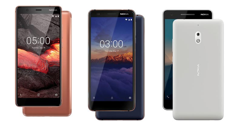 Nokia 2.1, Nokia 3.1 and Nokia 5.1 Indian prices confirmed