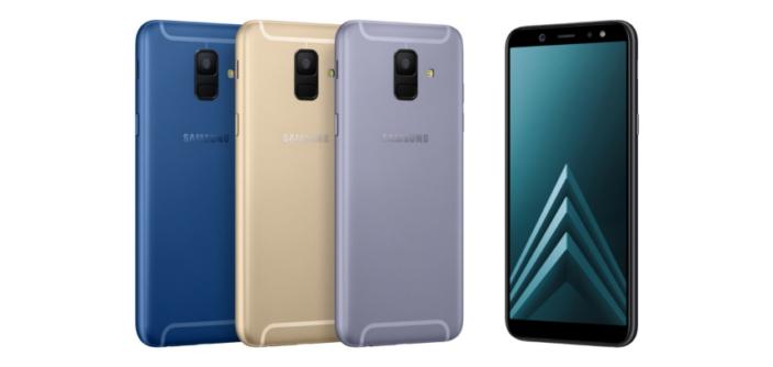 Samsung Galaxy A6 and Galaxy A6+ 2