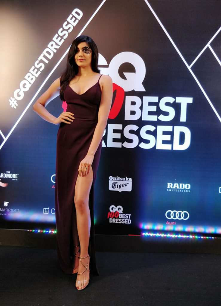 Adah's stunning appearance at the GQ awards