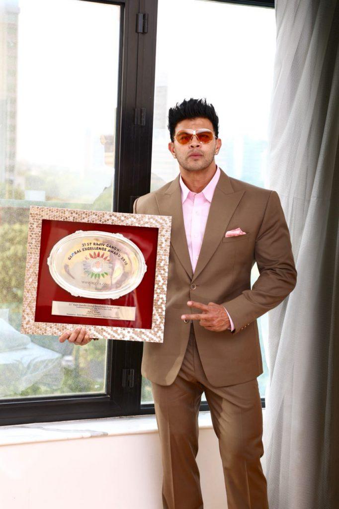 Sahil grabs fitness award