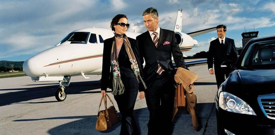 Wealthy Couple