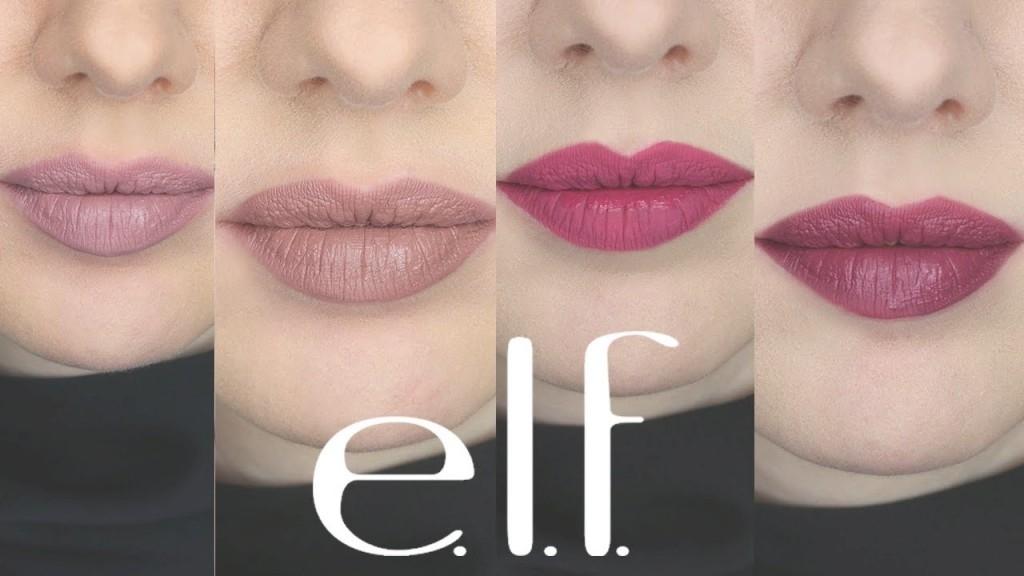 Nice Drugstore Lipstick Review | E.l.f. Matte Liquid Lipsticks - Youtube with Elf Matte Lip Color Tea Rose