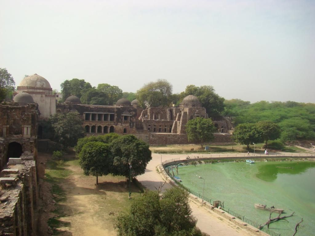 Deer Park in Hauz Khas Village