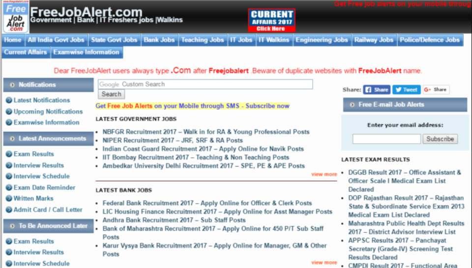 naukri nahi mili  try for these top 10 online job portals