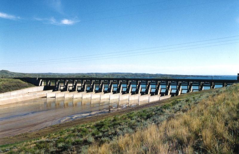 Houtribdijk Dam
