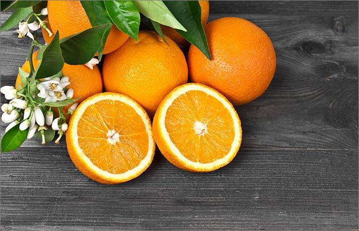 Orange Face Pack For Skin Lightening