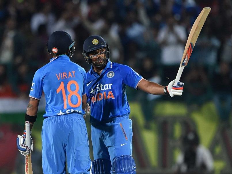 Rohit Sharma's first T20I century