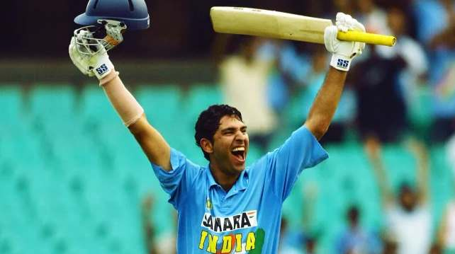 yuvraj singh batting vs australia