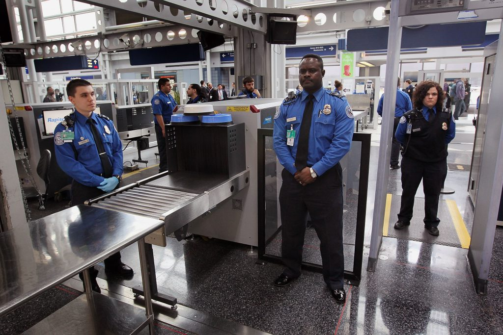 Air terminal security has gotten significantly stricter