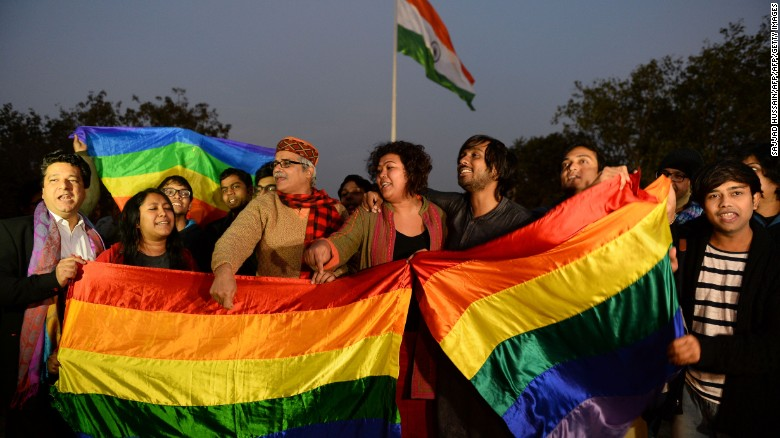 India's top court decriminalizes gay sex