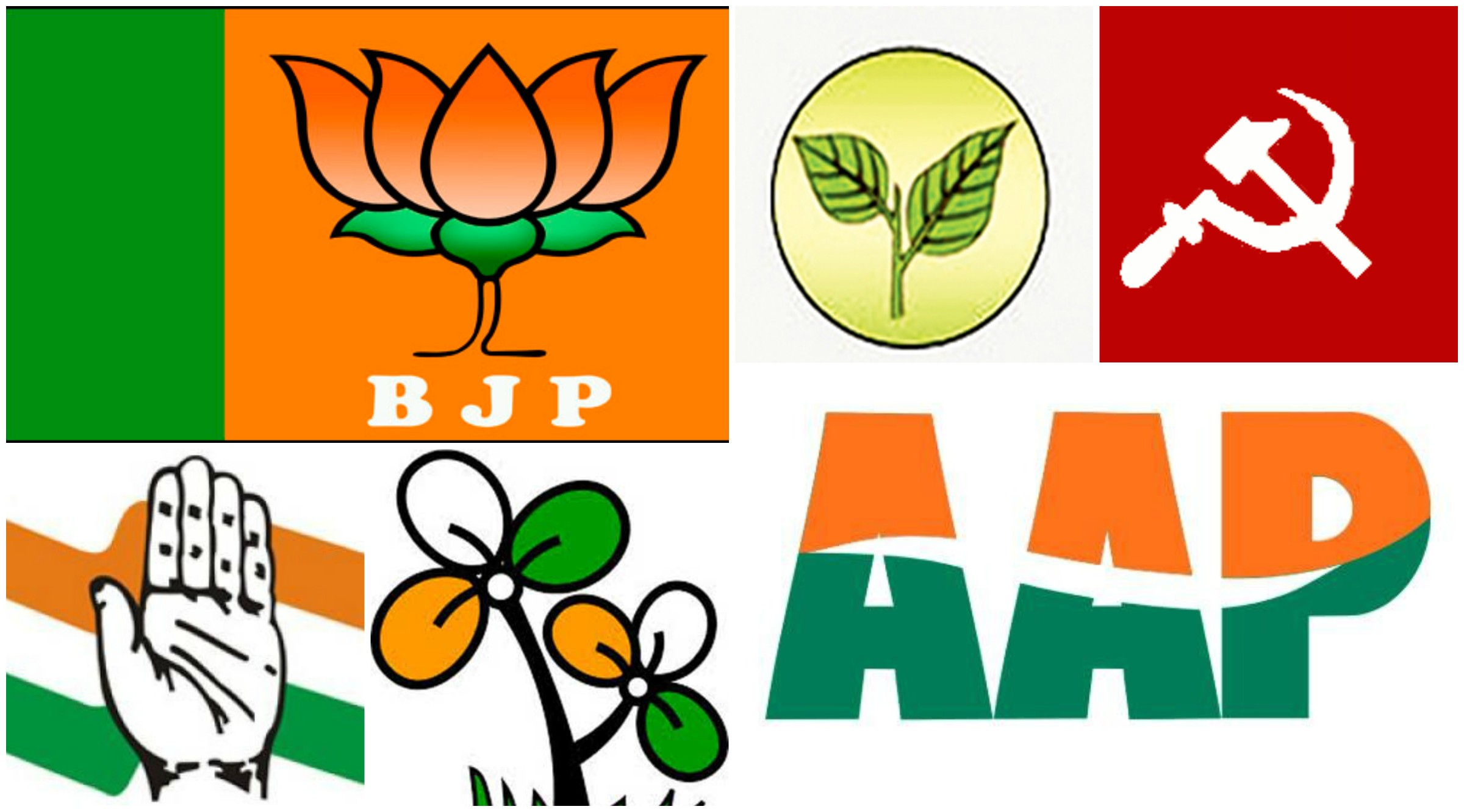 Top 10 Biggest Political Parties In India Do You Vote For Them