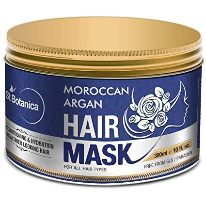 #6. St. Botanica Moroccan Argan Hair Mask