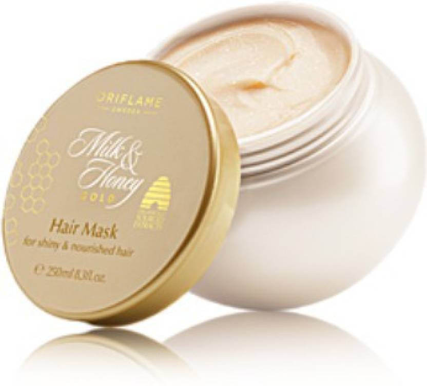 #8. Oriflame Milk And Honey Gold Hair Mask