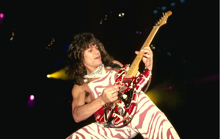 Eddie Van Halen - The magic of this guitar wizard 'erupted' out of Marshall stacks.
