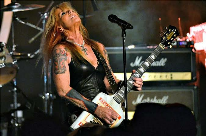 Lita Ford - A true guitar goddess. She has paved the way for women in rock and metal with her spectacular skills blaring out of Marshall stacks.