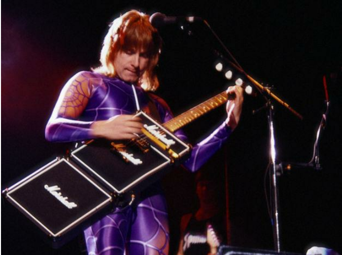 Nigel Tufnel - The guitarist of the fictitious metal band, Spinal Tap, was the proud owner of the Marshall amp which 'went up to 11'.