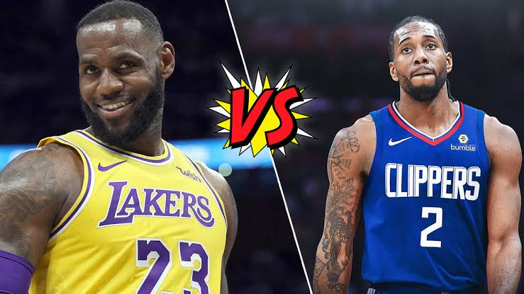 Lakers vs Clippers on opening night