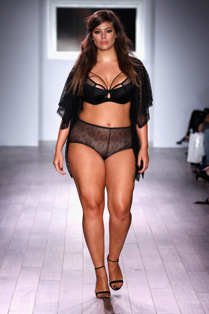 Going sheer with a bra top and high-waisted bottoms in addition to a matching robe.