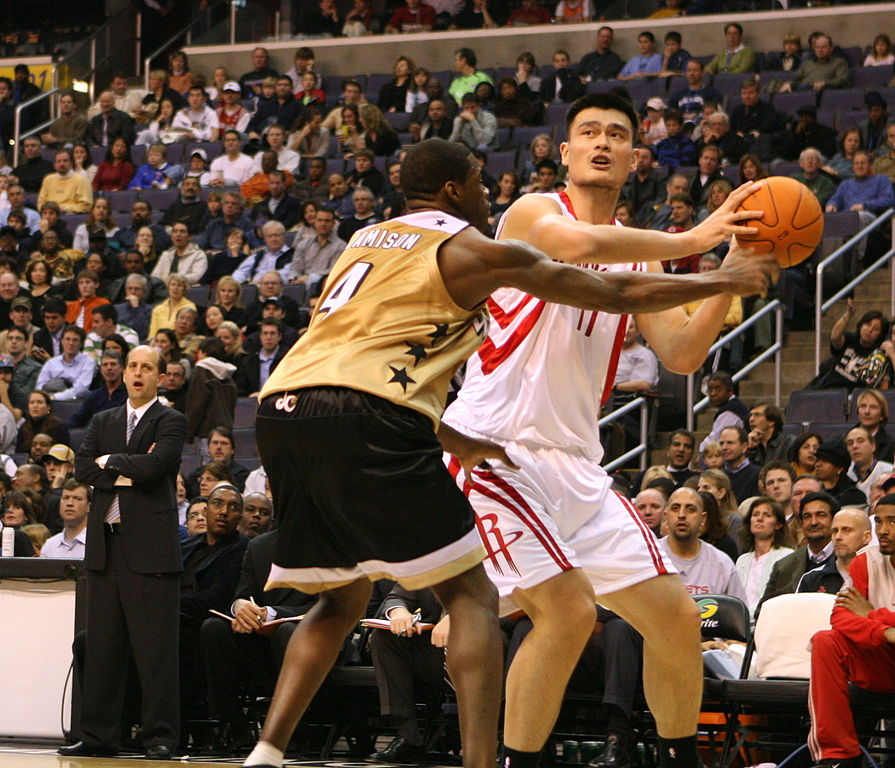 Yao Ming was the darling of the Houston Rockets during the mid-2000s