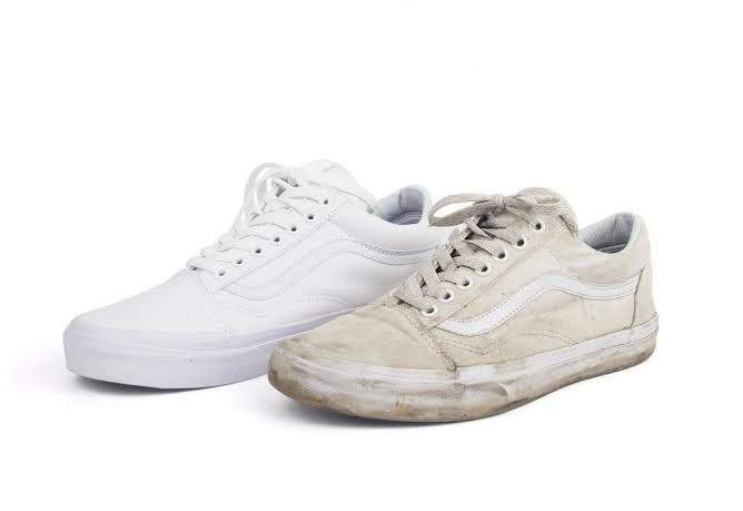 How to Clean White Vans at Home