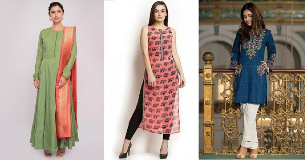 How to look slimmer in a kurti