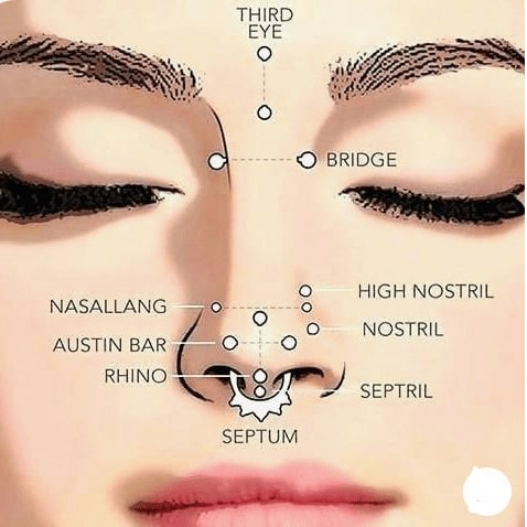 Nostril Piercing Price Pain Placement Aftercare And How To Hide It Daily Hawker