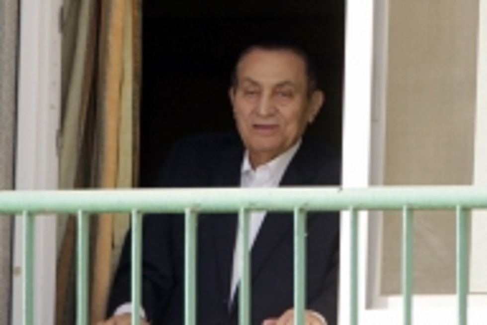 Egypt holds military funeral for ex-president Mubarak