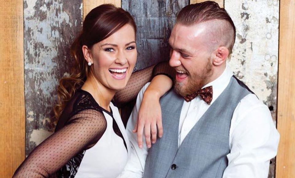 Conor McGregor gets engaged to Dee Devlin
