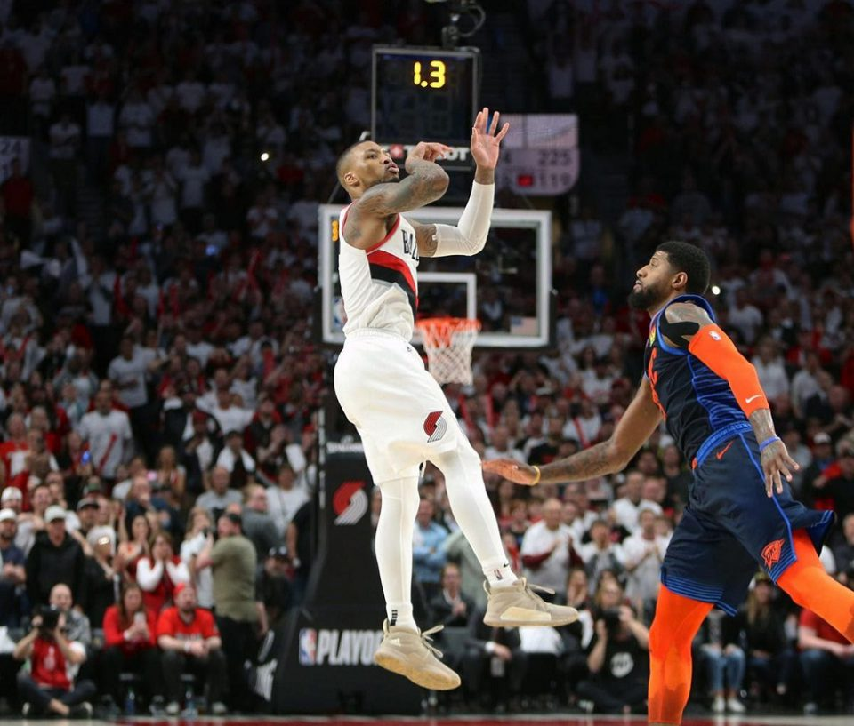 Nba What S Going On In The Damian Lillard And Paul George Dispute Daily Hawker