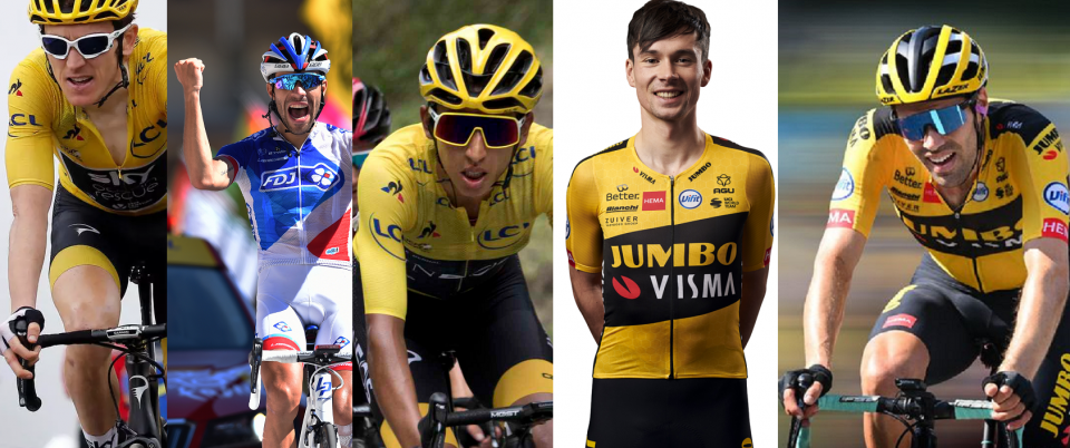 Leading Candidates to Win the Tour de France 2020