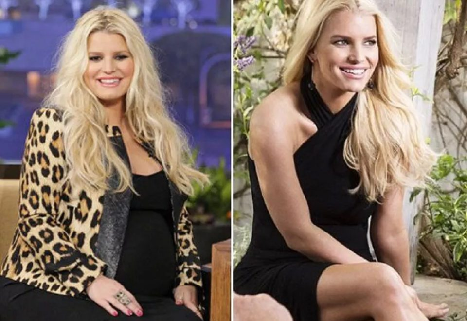 Jessica Simpson Weight Loss n
